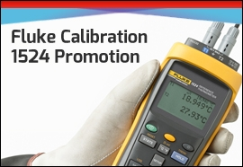 Fluke 1524 Reference Thermometer promotion