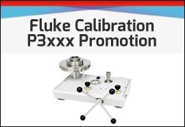 Fluke P3xxx Deadweight Tester Promotion