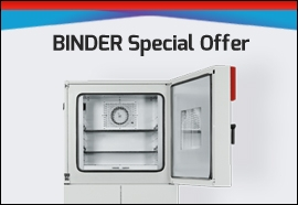 Order a BINDER MKF or MKFT Chamber and Get a FREE BINDER Pure Water System!