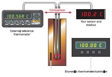 Boost calibrator accuracy with a platinum resistance thermometer (PRT)