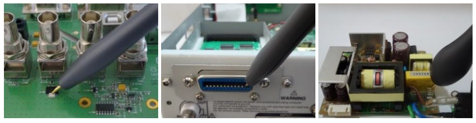 Probes can conduct contact circuit tests