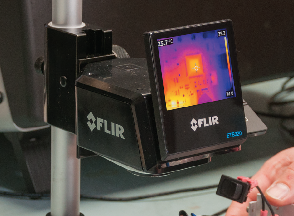 The FLIR ETS320 Thermal Imaging Solution