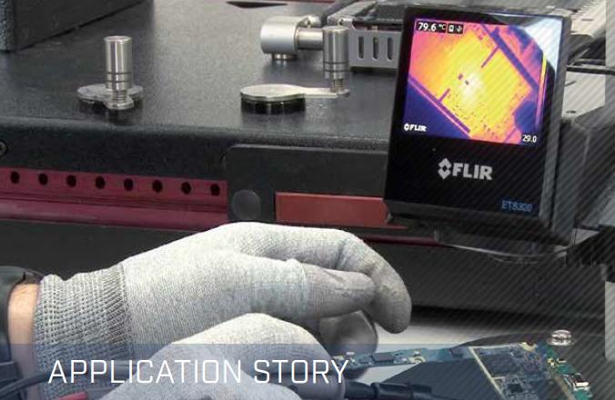 FLIR ETS320 Thermal Imaging Camera Application Story