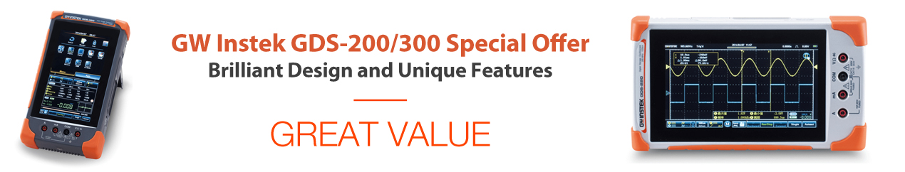 GW Instek GDS-300/200 Series Special Offer