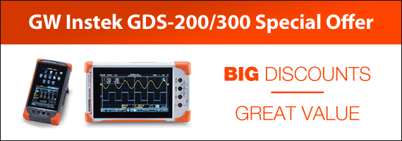 GW Instek GDS-200/300 Series Special Offer