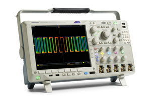 Tektrnix MDO4000C Digital Oscilloscope - IoT- Internet of Things Image