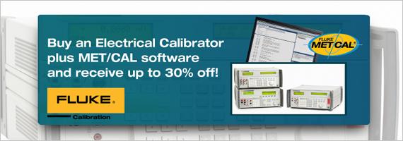 Fluke Calibration Promotion