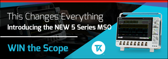 Tektronix NEW MSO Scope Competition