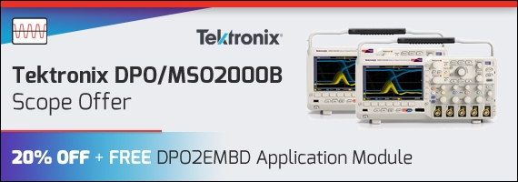 Tektronix DPO/MSO2000B Special Offer