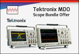 Tektronix MDO Scope Promotion