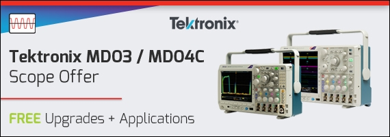 Tektronix MDO Scopes - Special Offer - Free Upgrades and Applications