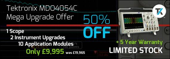 Tektronix MDO4054C Mega Upgrade Offer