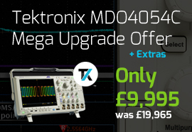 Tektronix MDO4000C Mega Upgrade Promotion