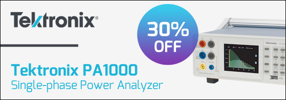 Tektronix PA1000 Power Analyzer Special Offer
