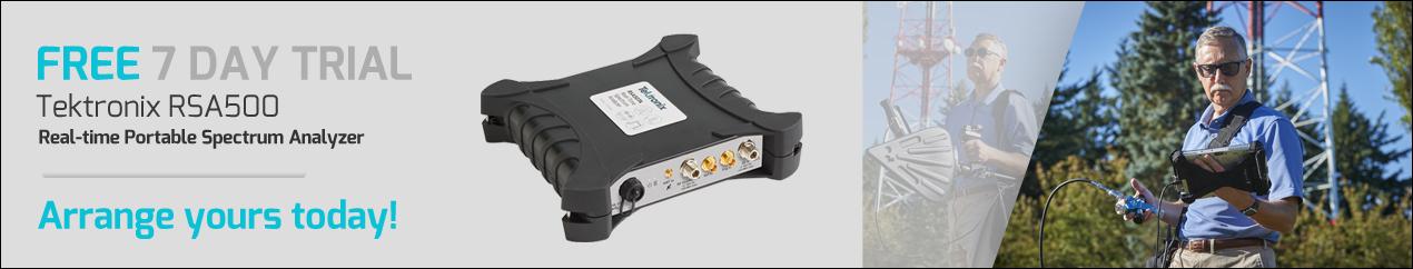 Tektronix RSA500 Free Trial