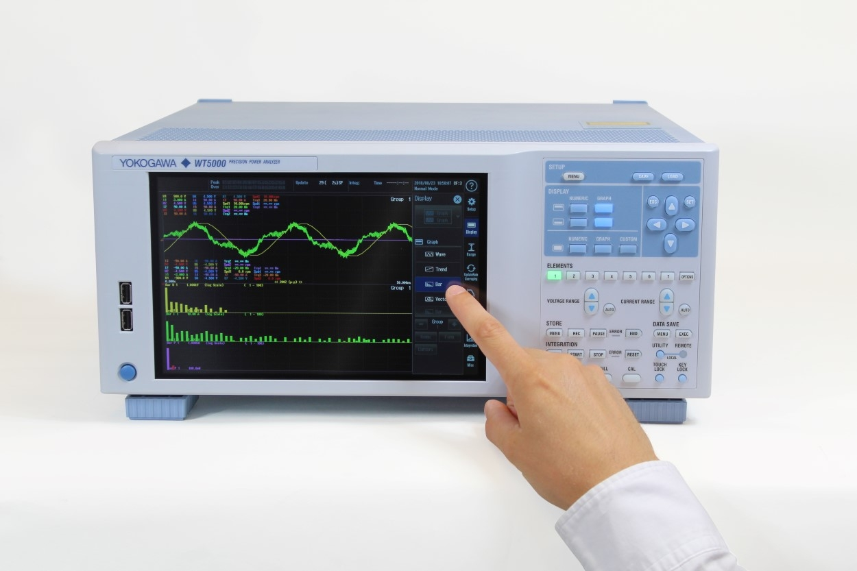 Yokogawa WT5000 Precision Power Analyzer