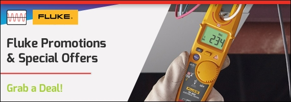 Fluke promotions and special offers