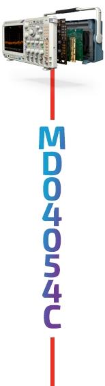 Tektronix MDO4054C Oscilloscope