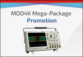 Tektronix MDO4K Scope Promotion