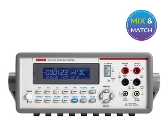 Keithley 2110 Series: 5½-Digit Dual-Display USB Multimeter