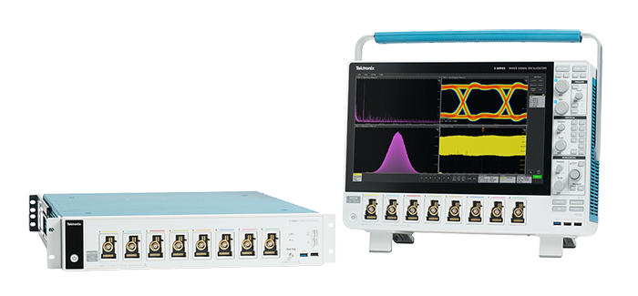 5 Series MSO Low Profile oscilloscope