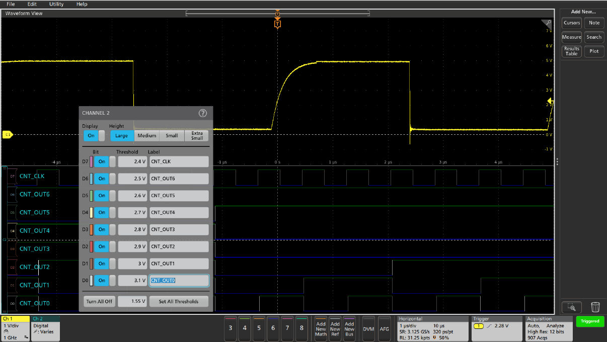 Troubleshooting Multiple-Bus Systems using FlexChannel® Input Channels
