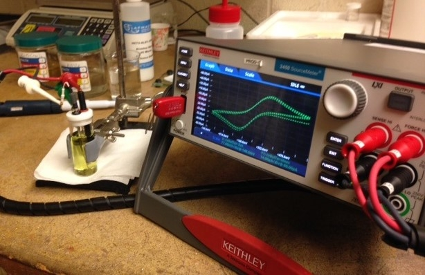 Performing Cyclic Voltammetry