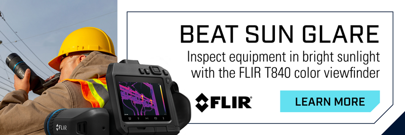 FLIR T840 High-Performance Infrared Camera with Viewfinder