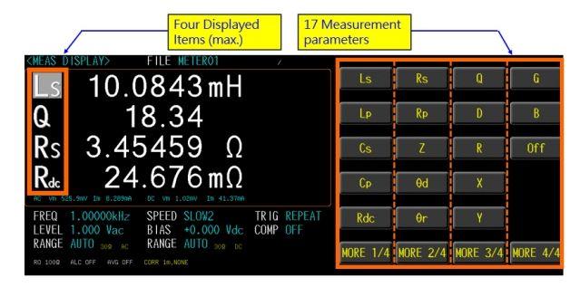 GW Instek LCR-8200 Series High frequency LCR Meters