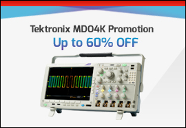 Tektronix MDO4K Scope Promotion