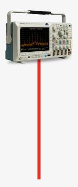 Tektronix MDO3014 Oscilloscope