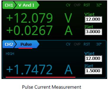 pulse current measurement