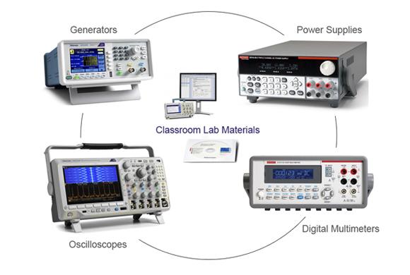 Electronic Engineering Teaching Laboratory Equipment