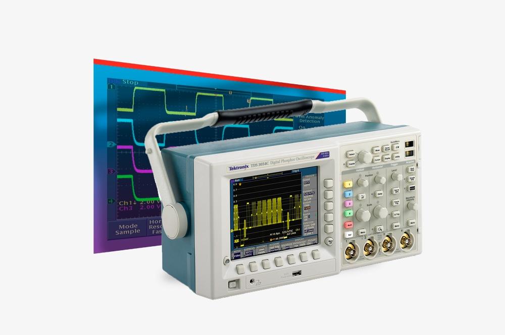 Tektronix TDS3000C Application Screen