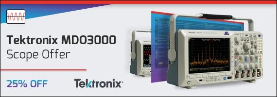 Tektronix MDO3000 Scopes - Special Offer