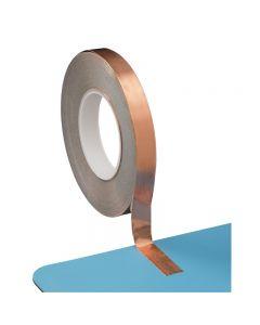Vermason Self-Adhesive Copper Earthing Tape, 0.15mm x 19mm x 50m