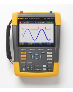 Fluke 190 Series III ScopeMeter®, 2 Channels, 500 MHz Bandwidth, with SCC-293 kit included (optional)