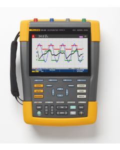 Fluke 190 Series III ScopeMeter®, 4 Channels, 500 MHz Bandwidth, with SCC-293 kit included (optional)