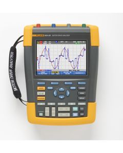 Fluke MDA-550 Motor Drive Analyzer with Motor Shaft and Harmonics