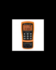 Keysight Technologies U1733C Handheld Capacitance Meter, 20,000 Count, Dual Display, 100Hz/120Hz/1KHz/10KHz/100KHZ