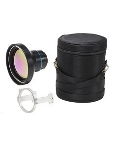 FLIR 88.9mm Lens; FOV 7°x5.3° with Case and mount support (A6XX)