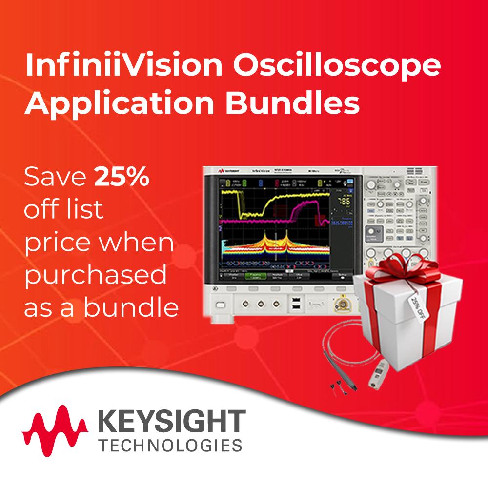 Keysight Technologies InfiniiVision Oscilloscope Application Bundles