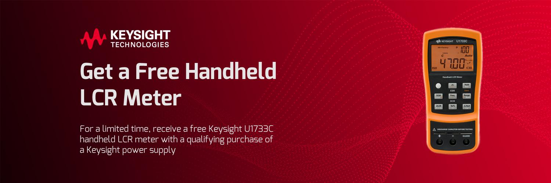 Get a Free Handheld LCR Meter