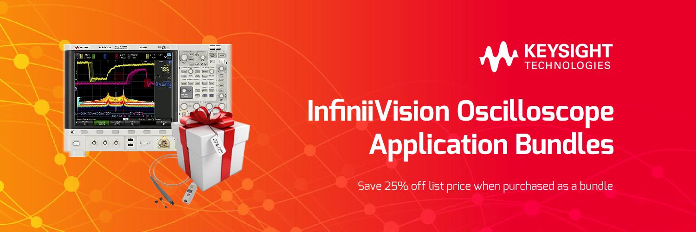 InfiniiVision Oscilloscope Application Bundles