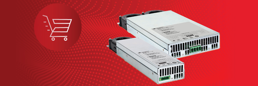Small, Fast and Flexible Modular Power Supplies